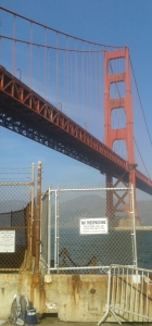 Golden Gate from Fort Point park