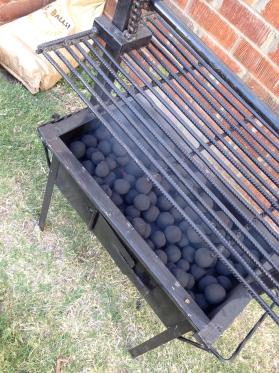 Compressed Charcoal BALLS! hehe, balls