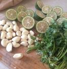 Garlic, Lime and Cilantro