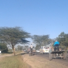 Out on the way to Ruai say these Donkey-Carts