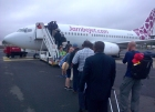 Jambojet is a local low cost carrier. Similar to Easyjet or Ryan air