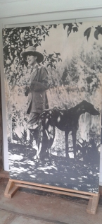 Karen Blixen, whose story was the basis for the movie Out of Africa