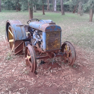 Another shot of the Tractor at the Karen Blixen Museum