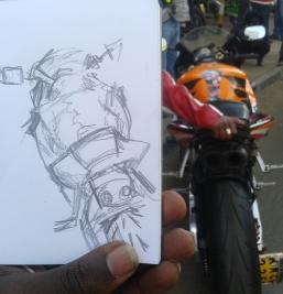 Quick sketch. I draw