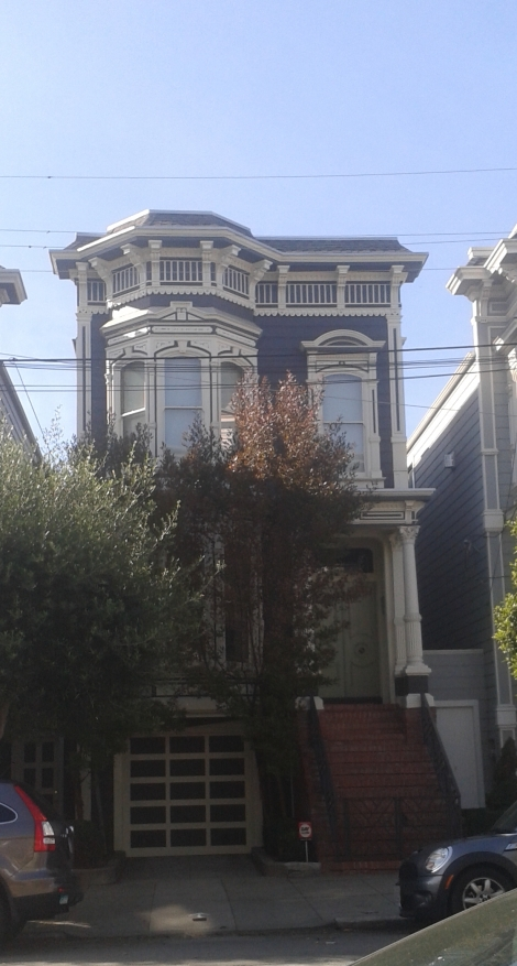 That one time I was in San Fran and walked by the Tanner House