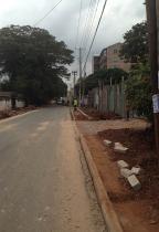 Sidewalks being built. Yay!