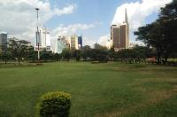 Uhuru park in the CBD