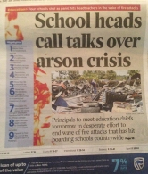 More on this later, but this is a picture of The Daily Nation, one of the main newspapers.