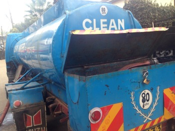 Common water trucks around Nairobi. For various reasons people may need water to suplement what is piped to the home...