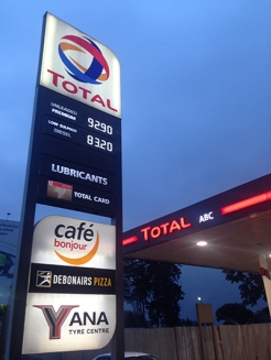 That's about $0.90 a liter (not gallon)