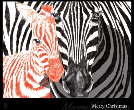 zebrachristmas