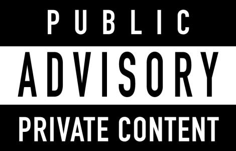 public-advisory-private-content